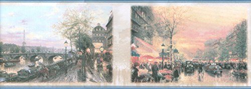 Imperial Thomas Kinkade 30882620 Paris Street Scenes Wall...