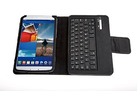 Amazon.com: New Removable Bluetooth Keyboard Case For Samsung GALAXY 8