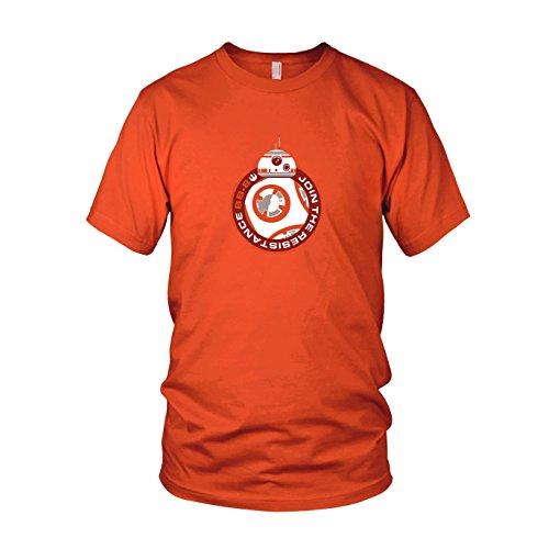 Join BB8 - Herren T-Shirt, Größe: S, Farbe: orange