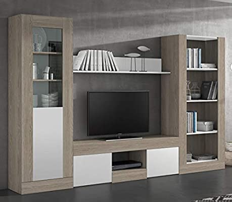 Miroytengo Pack Muebles salón Karla 2 Comedor diseño Moderno (Mesa ...