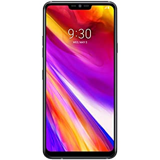 LG G7 ThinQ G710 64GB Unlocked GSM Phone w/ Dual 16MP Camera's - New Aurora Black