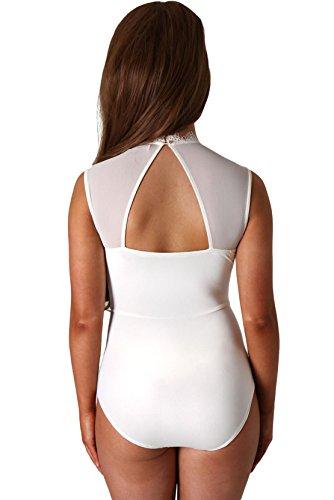 COSIVIA - Body - para mujer blanco