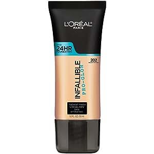 L'Oréal Paris Infallible Pro-Glow Foundation, Creamy Natural, 1 fl. oz.