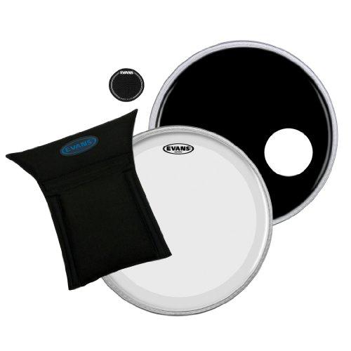 Evans Heads BD22B3 22-Inch Bass Drum - Evans Eq3 Bass