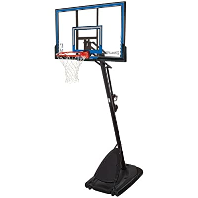 Spalding 50 Inch Polycarbonate Portable Basketball Hoop System