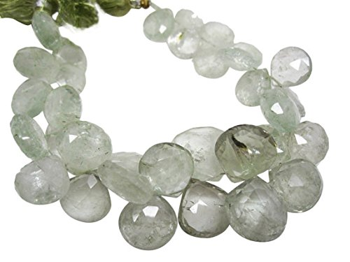verde Amethyst Beads, verde Amethyst, verde Amethyst Briolettes 4 inch strand 8-15mm