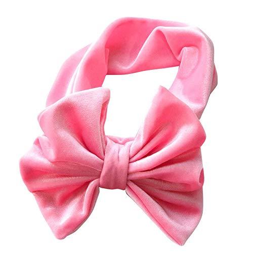 Soft Baby Girl Kid Toddler Bow Hairband Headband Turban Big Knot Head-Wrap New