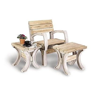 2x4basics 90140 Custom, AnySize Table, Sand : Outdoor Benches : Garden & Outdoor