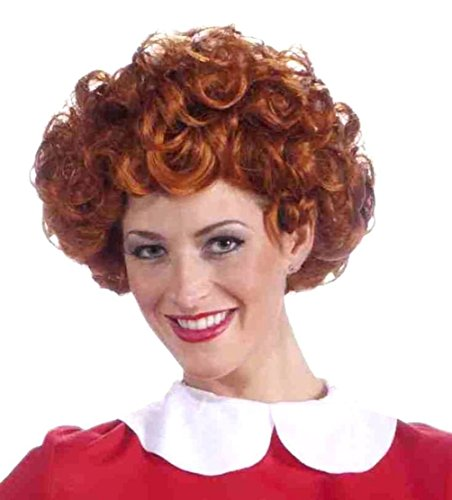 Adult Orphan Annie Costumes - Little Orphan Annie Adult Wig