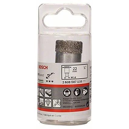 60 x 35 mm Bosch 2 608 587 128 Coronas de diamante para perforaci/ón en seco Dry Speed Best for Ceramic