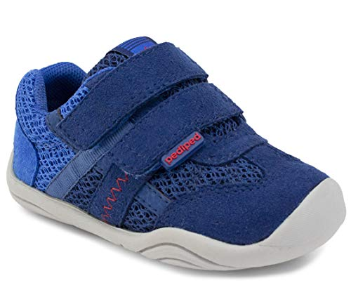 pediped, Boys, Toddler, Big kid, Gehrig, Navy Blue, Man-made upper, Sneaker - 20 EU (5 US)