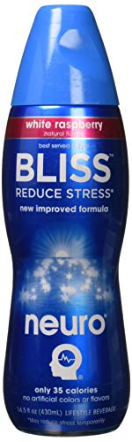 Neuro BLISS White Raspberry, 14.5 oz Bottles (Pack of -