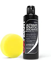 Carfidant Black Car Scratch Remover - Ultimate Scratch and Swirl Remover for Black and Dark Paints- Solvent & Paint Restorer - Repair Paint Scratches, Scratches, Water Spots! Car Polish Buffer Kit
