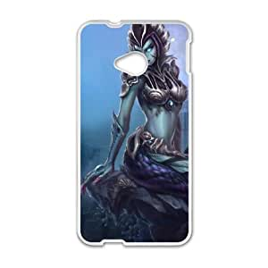 HTC One M7 Cell Phone Case White League of Legends Cassiopeia 002 WH9478862