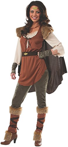 Female Medieval Costumes (Rubie's Women's Forest Princess Adult Costume, Multi,)