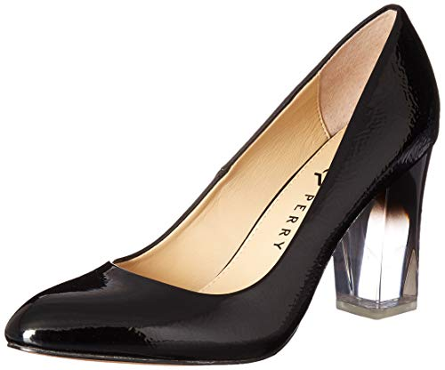 Katy Perry Women's The A.W. Middie-Crinkled Patent Pump Black 10 M M US ()