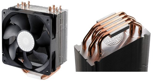 Cooler Master Hyper 212 Plus - CPU Cooler with 4 Direct Contact Heat Pipes (RR-B10-212P-G1) (Best Air Coolers For I7 6700k)