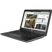 HP 2VM88UT#ABA Zbook 15 G4 Workstation 15.6 Notebook, Windows, Intel Xeon 3 Ghz, 16 GB Ram, 256 GB SSD, 1 Tb HDD, Black