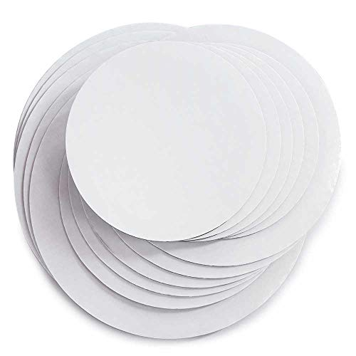 (Cake Board Circles - Grease Proof 12