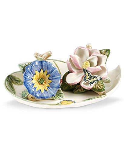 - Portmeirion Serveware Botanic Hummingbird Flower Salt and Pepper Shakers