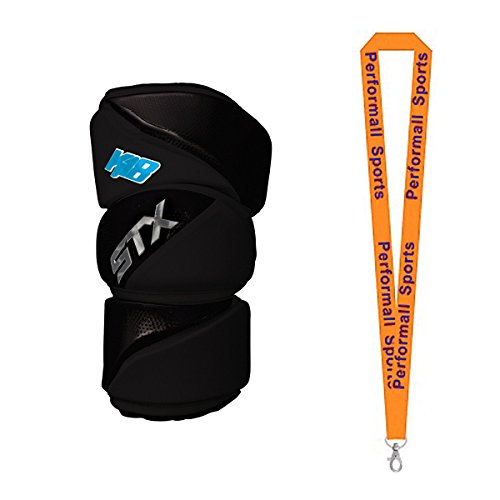STX K-18 Lacrosse Arm Guards with 1 Performall Sports Lanyard – DiZiSports Store