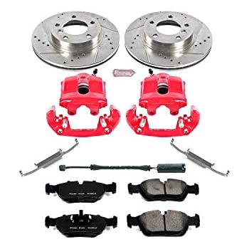 Power Stop KC2193 1-Click Performance Brake Kit with Calipers Front Only