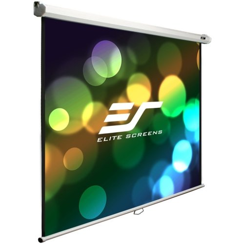 Elite Screens, Inc - Elite Screens M100s Manual Projection Screen - 100'' - 1:1 - Wall/Ceiling Mount - 71'' X 71'' - Maxwhite ''Product Category: Accessories/Projection Screens'' by Original Equipment Manufacture