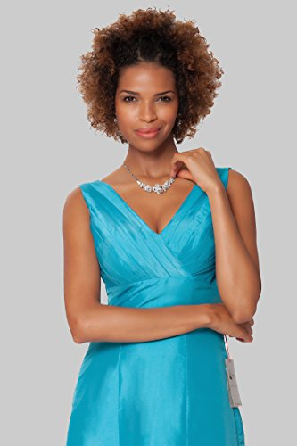 Gorgeous de de EDJ1574 Encuadre SEXYHER vestido damas Turquesa de honor cuerpo entero de formal noche qUwdHd