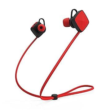 pipihua Bluetooth auriculares auriculares auriculares inalámbricos – Auriculares inalámbricos estéreo deporte running auriculares con micrófono manos