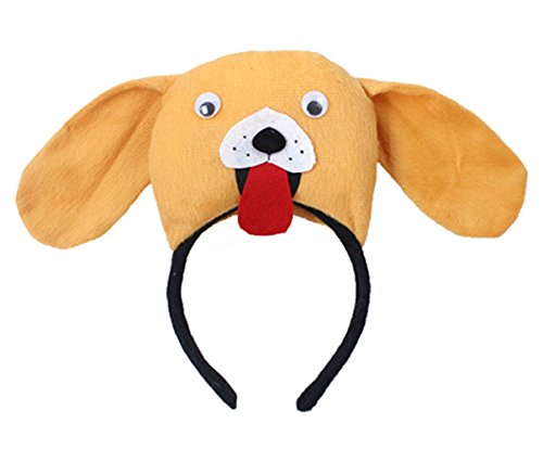 bbhoney Animals Cute Headband Party Costume Ear Headband Cosplay (Dog Ear Headband Costume)