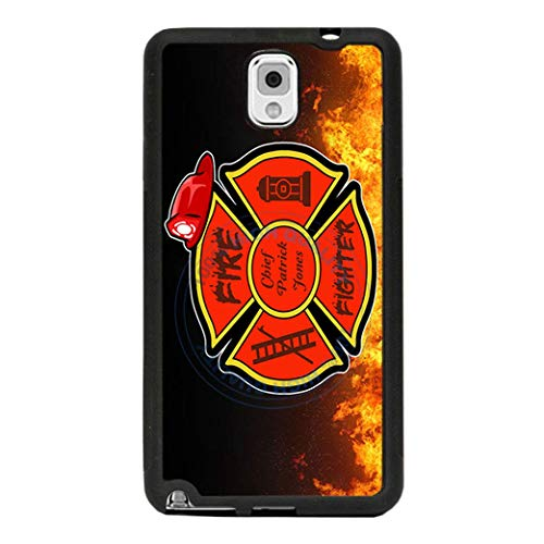 BRGiftShop Personalized Custom Proud Firefighter Fire Fireman Retired Rubber Phone Case For Samsung Galaxy J3 2018
