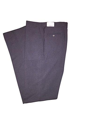 Hubbard Excelsior 36 Long Charcoal Wool Blend Dress Pants 36L (36 Long)