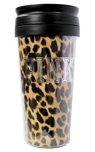 Victoria Secret PINK Bling Coffee Tumbler mug 13.5oz, - Victoria Pink Secret Tumbler