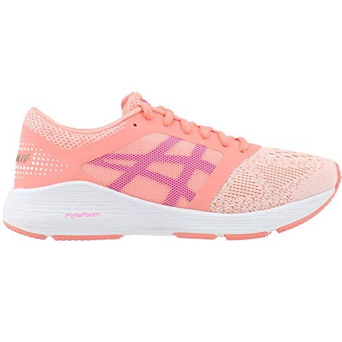 Moda pink Pink Deportivos Mujeres white Glow Begonia Ff Asics De Roadhawk Talla 6wXznxB