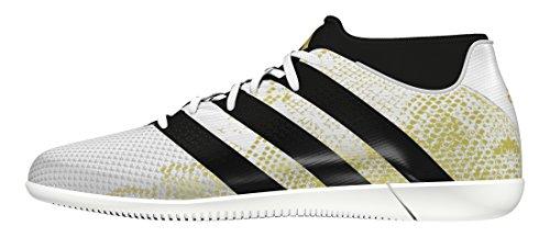 adidas Herren Ace 16.3 Primemesh in Fußballschuhe Weiß (Ftwr White/Gold Metallic/Core Black)