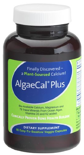 AlgaeCal Plus – Plant Source Calcium Supplement – 90 Veggie Caps, Health Care Stuffs