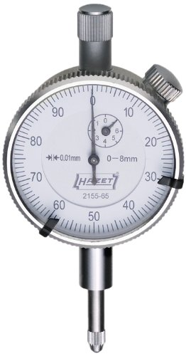 Hazet 2155-65 0-8mm Dial Gauge