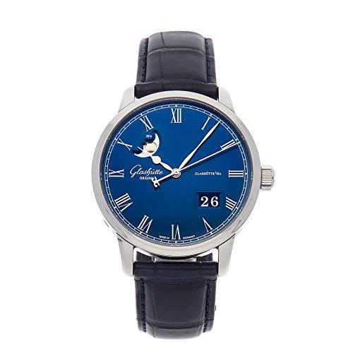 Glashutte Original Senator Mechanical (Automatic) Blue Dial Mens Watch 100-04-05-12-30 (Certified Pre-Owned)