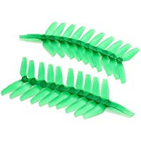 BangBang 10 Pairs Racerstar 5042 5x4.2x3 3 Blade Propeller 5.0mm Mounting Hole For FPV Racing Frame (10 Pairs: Color Green)