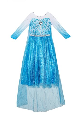 Price comparison product image Snowy mountain princess / Vestido Reina de hielo XS 2-3 years