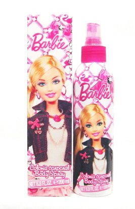 Barbie Cologne Body Spray 6.8 oz for Girls by Mattel, Inc.