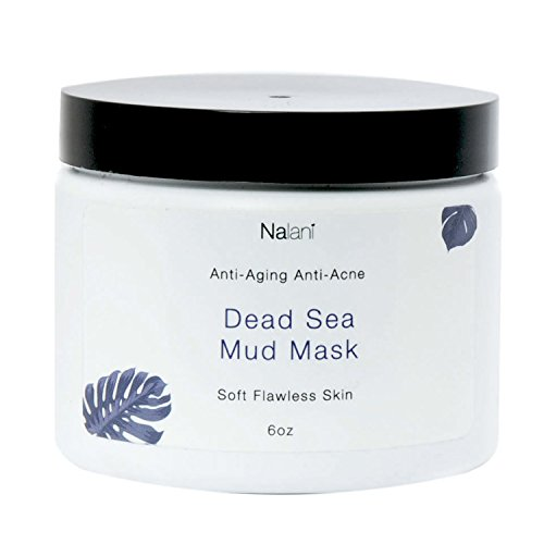 Nalani Dead Sea Mud Mask Facial Treatment, 6 Ounces, Organic, Made in USA