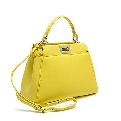 HITSAN INCORPORATION Genuine Leather Peekaboo Bag Luxury Handbags Women  Messenger Bags Designer High Quality Leg Shoulder 81d0a689af362