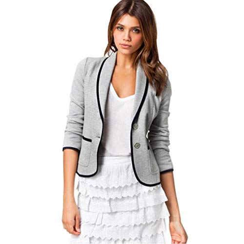 Seaintheson Women Coat Clearance, Ladies Business Office Work Coat Blazer Suit Long Sleeve Tops Slim Jacket Outwear Size (Blazer Club Country)