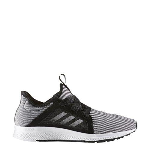 adidas Performance Women's Edge Lux W Running Shoe, Black/White/Metallic/Silver, 6.5 M US by adidas Performance