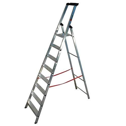 Tap 0000976 escalera Pro en aluminio 8 peldaños 3.66 M carga 150 kg: Amazon.es: Industria, empresas y ciencia