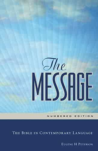 The Message Full Size: The Bible in Contemporary Language