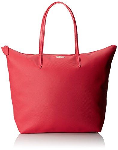 Lacoste Women's Concept Travel Shopping Bag, Petunia Pink...