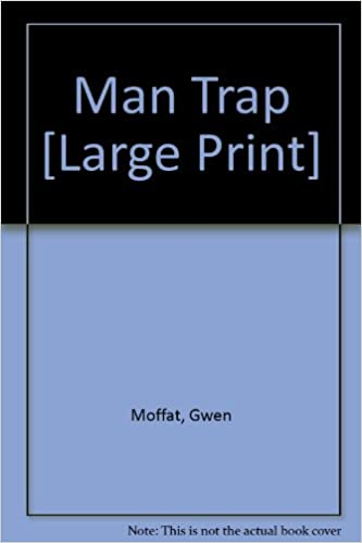 Book Man Trap [Large Print]