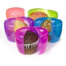 Sistema To Go Muffin & Cupcake Container, 2 Pack